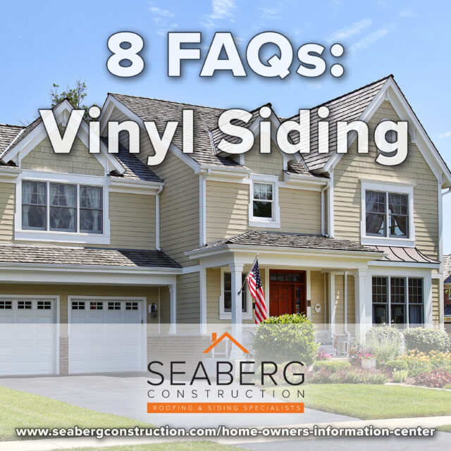 8 Frequently Asked Questions: Vinyl Siding