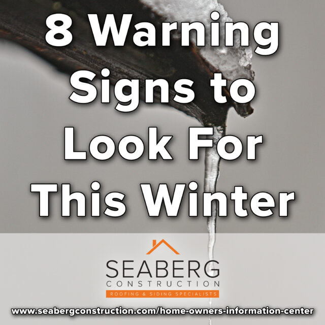 Roof Maintenance: 8 Warning Signs to Look For This Winter