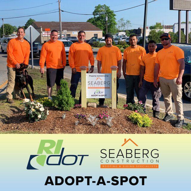 Seaberg Construction Adopt-A-Spot