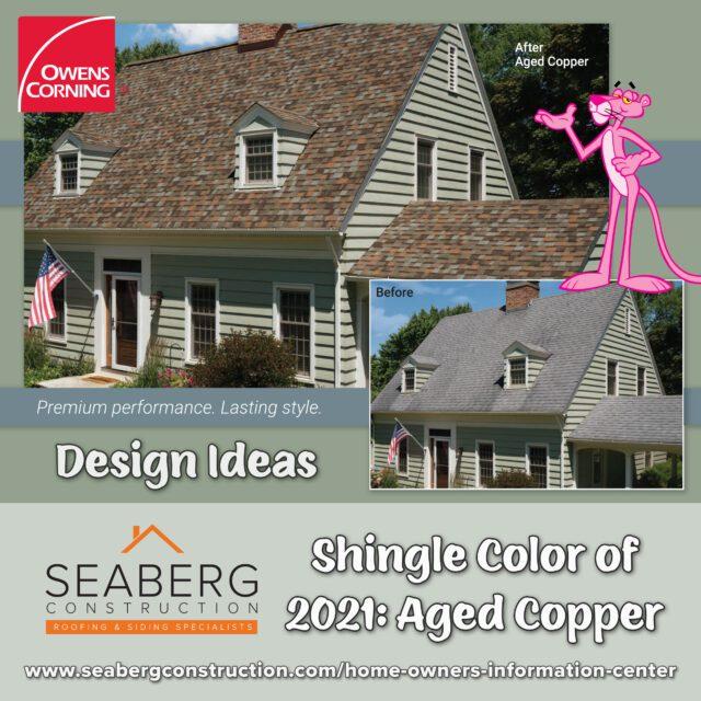 Owens Corning Aged Copper Shingles: Design Ideas
