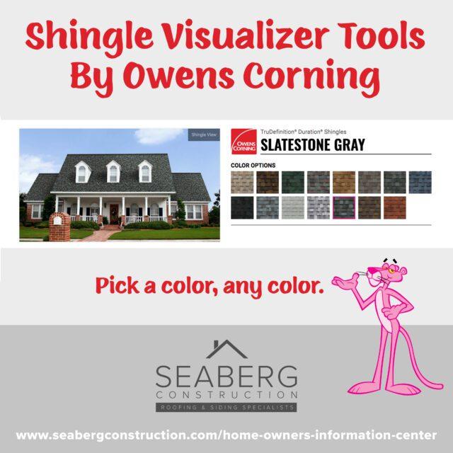 Shingle Visualizer Tools By Owens Corning